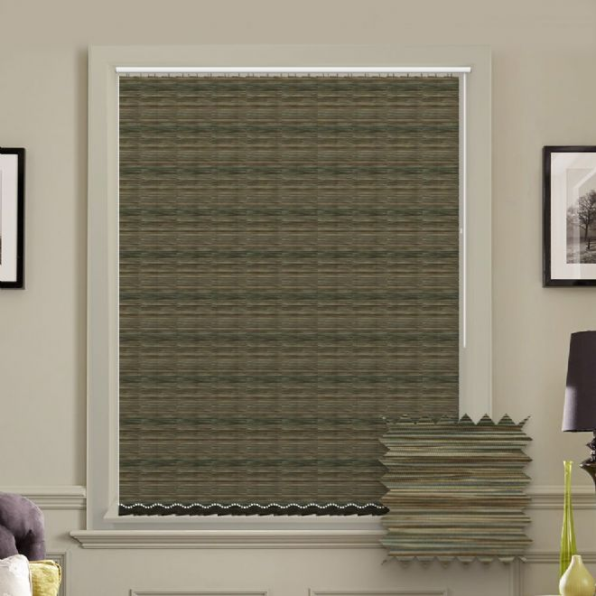Made to Measure Morocco Moonstone Vertical Blind - Just Blinds